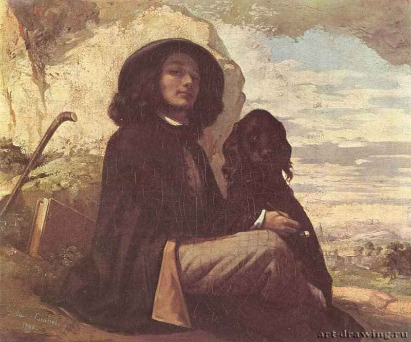 Именно в это время курбе был дружен с поэтом шарлем бодлером, которого он при