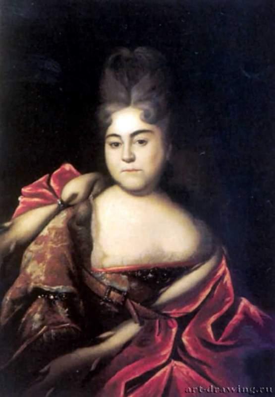 Портрет царевны натальи алексеевны —