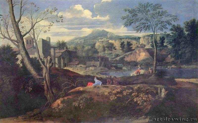 Пейзаж с полифемом - пейзажы