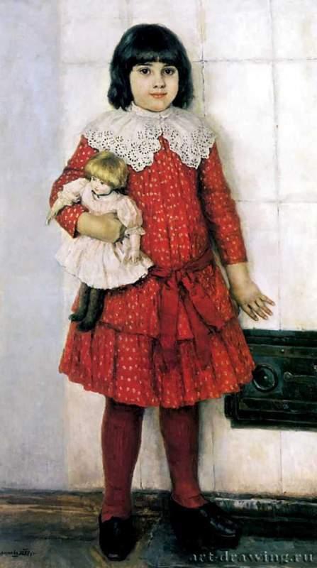 Портрет ольги васильевны суриковой