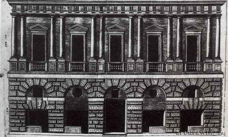 Палаццо каприни дом рафаэля начата