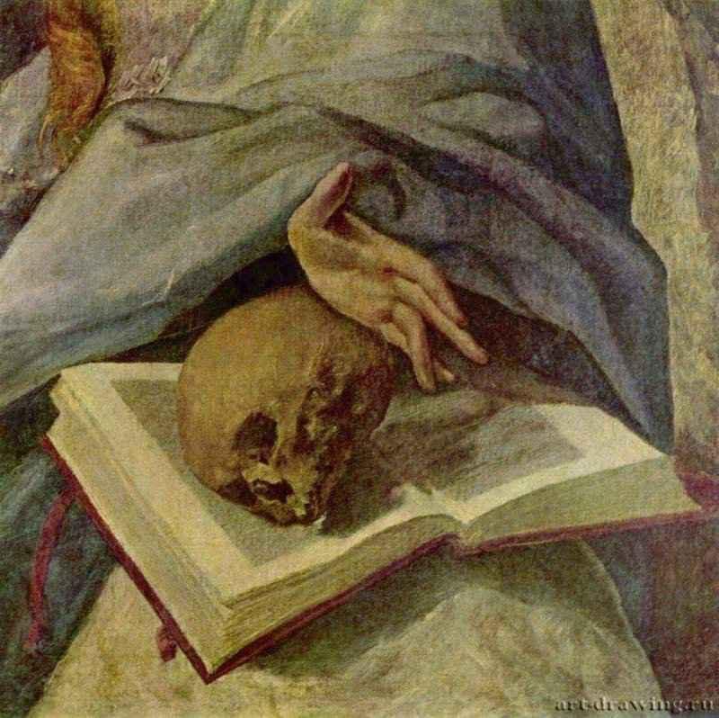Кающаяся Мария Магдалина. Фрагмент. 1580 ...: www.art-drawing.ru/gallery/319-el-greco/detail/2174-094212b13