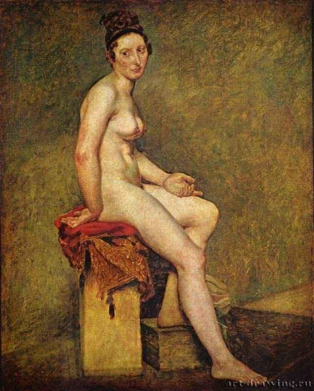 Картины, описание картин - Мадемуазель ...: www.art-drawing.ru/gallery/1079-delacroix-eugene-ferdinand-victor...