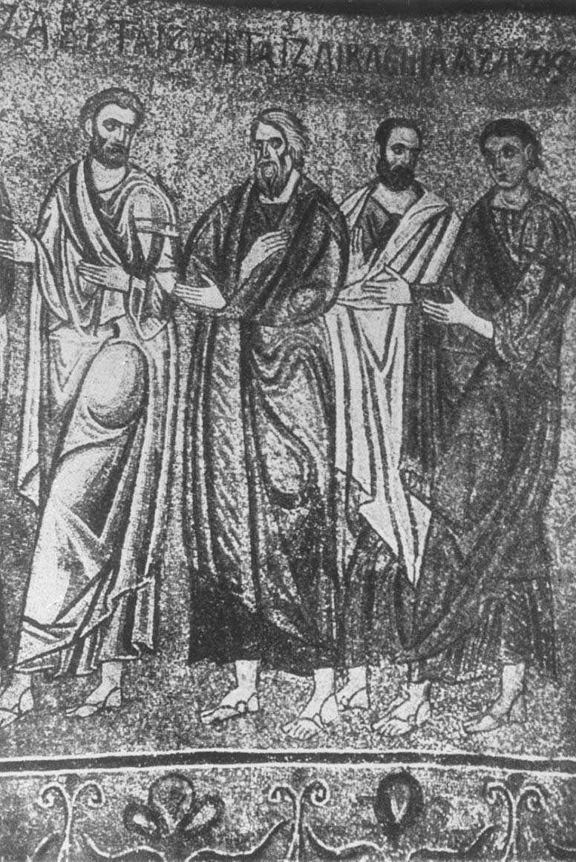 Фигуры апостолов евхаристии около 1108
